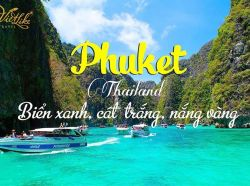 TOUR PHUKET - ĐẢO PHI PHI 4N3D - BAY THAI AIRWAYS 4*